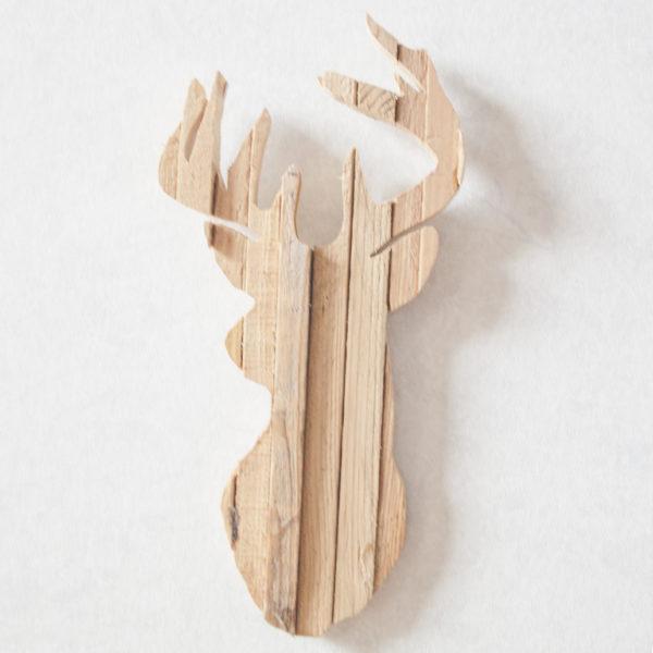 houten hert
